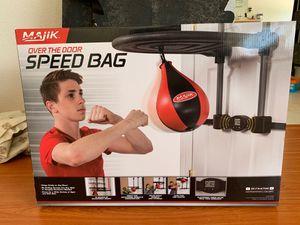 Over the door speed bag for Sale in Vista, CA