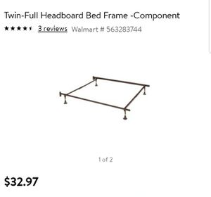 Metal bed frame for Sale in Monticello, NY