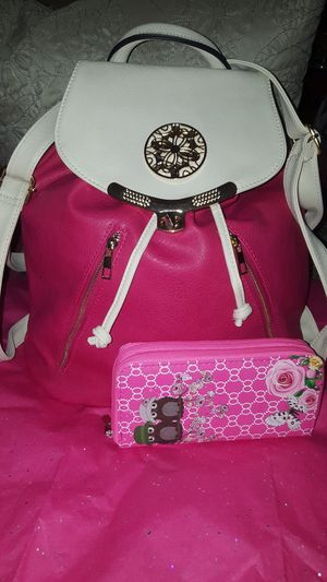Womens Backpack with wallet new. for Sale in Hartford, CT