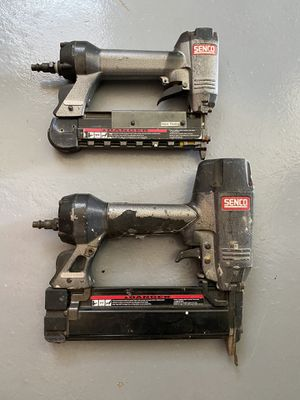 Nail gun, one 18 gauge and one 24 gauge for nice finish. Magnifier lights and cargo straps. for Sale in Hayward, CA