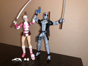 Marvel Legends Deadpool and Gwenpool Figures for Sale in Miami, FL