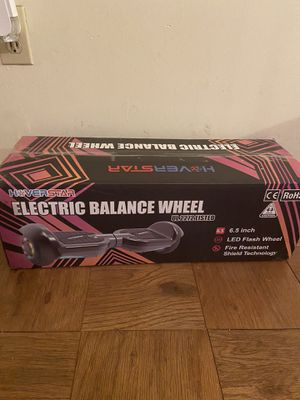 HOOVERSTAR ELECTRIC BALANCE WHEEL(hoverboard) for Sale in RIVERDALE, MD