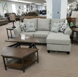 Abney Driftwood Sofa Chaise byAshley for Sale in Laurel,  MD