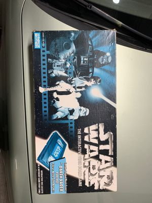 Star Wars board game with vhs cassette for Sale in Cleveland, OH