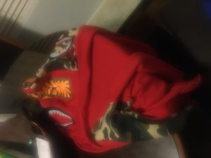 Bape hoodie red for Sale in Aurora, CO