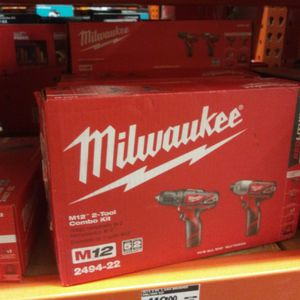 Milwaukee Tools M12 Drill And Impact And Mack Sawll for Sale in Puyallup, WA
