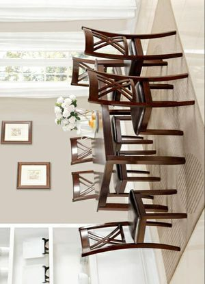 🚚3-6 days delivery🚚NewEloise Brown 7-Piece Dining Set for Sale in Jessup, MD