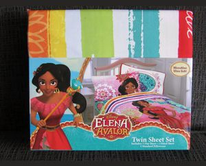 Elena Avalor 3 pc. twin sheet set for Sale in Kingsley, MI