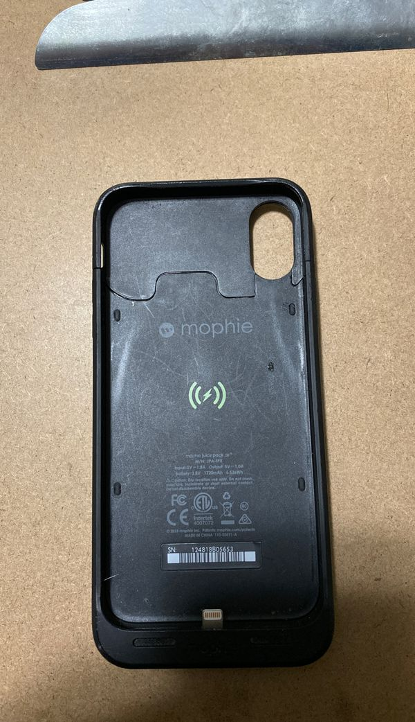 iPhone X Mophie Case