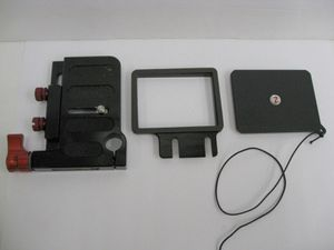 Zacuto Viewfinder Accessories Frame, Gorilla Plate, Cover for Sale in Los Angeles, CA