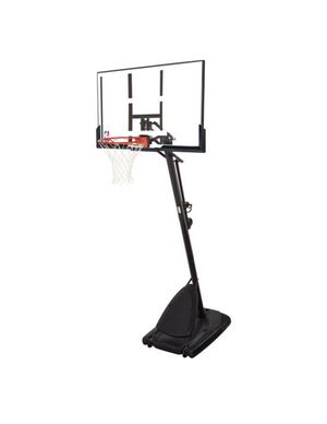 "Spalding NBA 54"" Portable Angled Basketball Hoop with Polycarbonate Backboard for Sale in Santa Ana, CA"