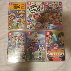 Nintendo Switch Games Lot. Each Priced for Sale in Hollywood, FL