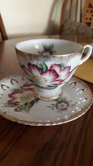 Vintage Bone china tea cup and saucer for Sale in Tulare, CA
