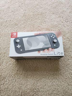 Nintendo Switch Lite Gray - NEW! for Sale in Palmetto, FL