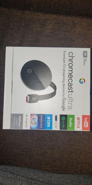 Chromecast Ultra for Sale in Merced, CA