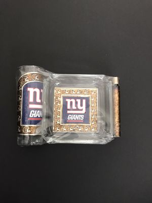 New York Giants ashtray set for Sale in Los Angeles, CA