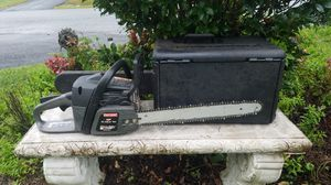 "SEARS 42CC 18"" CHAINSAW+ CASE for Sale in Inwood, WV"