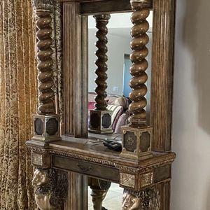 Entryway Console Mirror Decor for Sale in El Cajon, CA