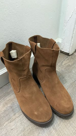 American Eagle brown suede boots W7.5 for Sale in San Francisco, CA