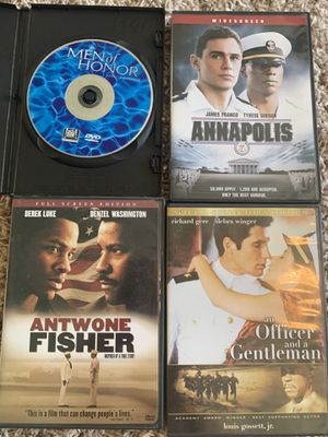 4 Navy military DVDs for Sale in Hanford, CA