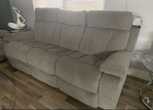 Juego de sofa y loveseat. New Set sofa and loveseat reclining. Pick up only Hialeah Gardens. for Sale in Hialeah, FL