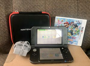 New Nintendo 3DS XL w/ Charger, Case, & One Mario Game for Sale in Cuero, TX