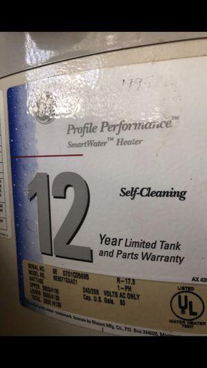 80 gallon GE Water Heater for Sale in Davie, FL