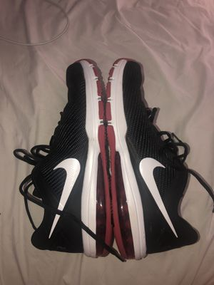 Nike Air Max black/red running shoes for Sale in West Seneca, NY