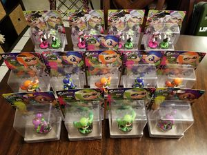 Splatoon Amiibo Lot Collection Nintendo Switch Wii U for Sale in Cocoa, FL
