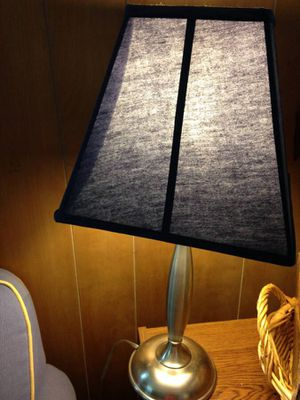 Blue lamp for Sale in Hinsdale, IL