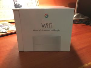 Google WiFi- New- Sealed in Box 1 point AC 1200 router Model AC-1304 for Sale in Los Angeles, CA