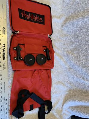 Highlights For Children Foldable bag with wheels for Sale in Glendale, AZ