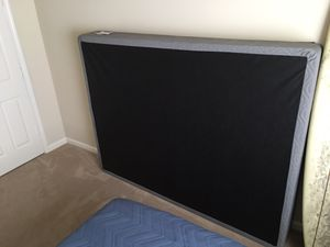 *Brand New* Queen Box Spring (Gray) for Sale in Wilmington, NC