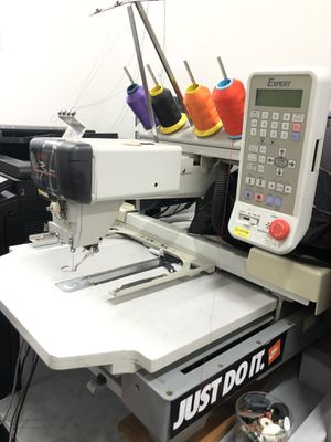 Embrodery machine 1 needle for Sale in Fort Washington, MD