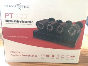 Phasetech PT-200 Digital Video Recorder (DVR) Combo Kit for Sale in Los Angeles, CA