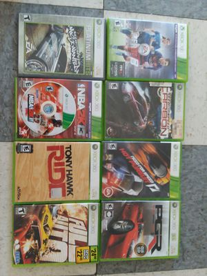 Xbox 360 Game Bundle for Sale in Stickney, IL