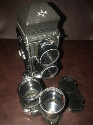 MAMIYA C330 PROFESSIONAL F & F-65/180mm Lenses for Sale in Windsor Mill, MD