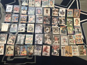 Baseball Card Lot. Rookies and stars. for Sale in Temecula, CA