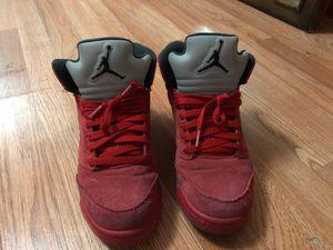 Air Jordan red 5s for Sale in Las Vegas, NV