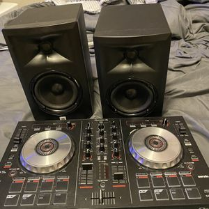 Pioneer DJ Board And JBL Monitor Speakers for Sale in Columbia, MO