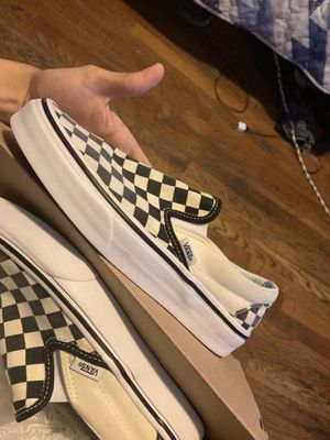 Vans checkerboard Slip-On size 7 for Sale in Denver, CO