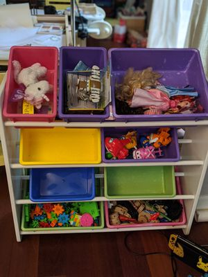 Kids toy basket shelf for Sale in Bothell, WA