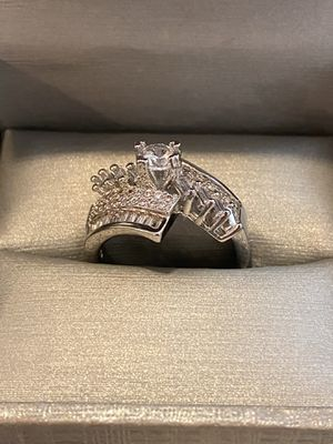18K Gold plated Engagement/Promise/Wedding Ring - Rhombus—code FK1003 for Sale in Sacramento, CA