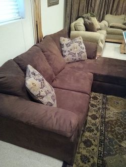 Brown Microfiber Sofa for Sale in Littleton,  CO