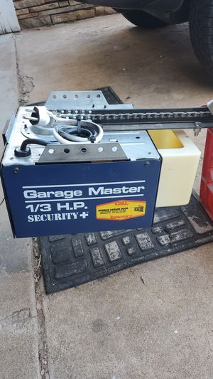 Garage door opener with bar and chain. Works. for Sale in Oklahoma City, OK