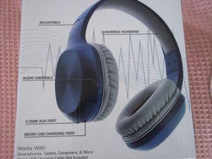 Blue Wireless Vortex Studio Headphones New for Sale in New York, NY