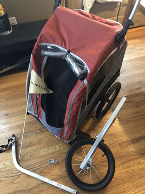 Burly bike trailer and jogger for Sale in Portland, OR