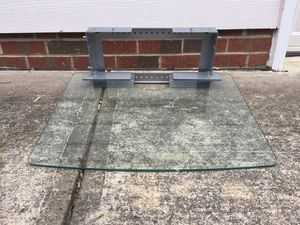 Glass wall shelf - very sturdy $40 to $60 for Sale in Chapel Hill, NC