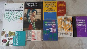 All my Japanese books education and some beginner manga for Sale in Livermore, CA