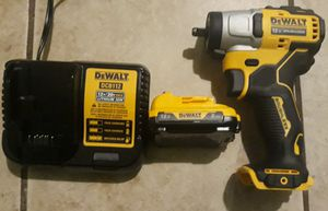 DeWalt 12 volt 3/8 brushless impact wrench tool only for Sale in Greenville, SC